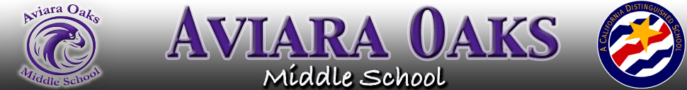 Aviara Oaks Middle School  Logo